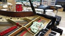 引っ越し中の音楽室