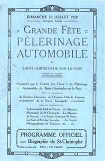 Le programme de 1928