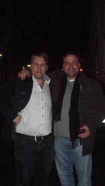 Links meine Person und rechts mein langjähriger Zuchtfreund Oliver Böff bei dem DM 2014