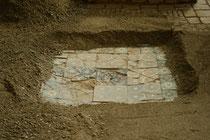 Шахризабс: часть бассейна засыпанная песком с северной стороны Ак Сарая, для сохранения при температурных коллебаниях ( Селин Оланье, 2008)