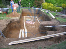 swim spa mit whirlpool outdoor und überdachung