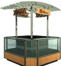 kiosko centro comercial