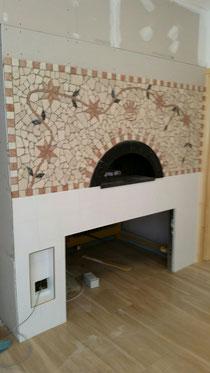 Mosaico in marmo fatto a mano