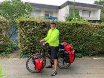 Start der 1. Etappe nach Dresden
