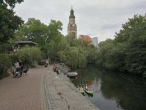 Kanal in Leipzig
