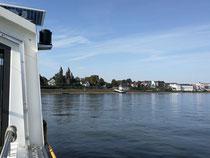 Rheinfähre nach Wesseling