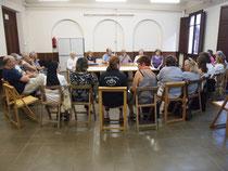 Darrera reunió amb representants de les catifes