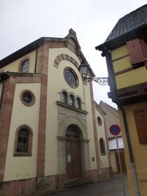 La synagogue de Bergheim