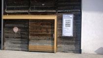 Eingang Sammelstelle Thusis