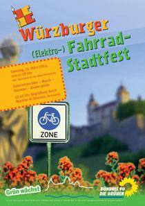 Fahrradstadtfest Würzburg 15.03.2014