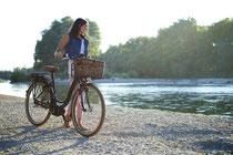 e-Bike mit einer Geschwindigkeit bis 25 km/h
