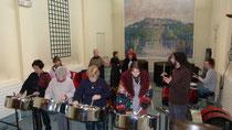 'Mémoire en Musique' avec le groupe de la CARSAT de Tours , décembre 2011