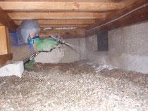 土壌処理剤の表面散布処理