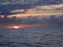 Sonnenuntergang Richtung Azoren