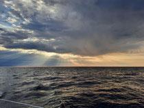 Sonnen, Wolken, Biskaya