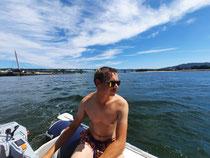 Schlauchboot fahren in Viana