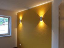 wandlampen im schlafzimmer und am gang ws4 wiesenstra e 4 bad schallerbach. Black Bedroom Furniture Sets. Home Design Ideas