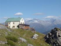 NFH Padasterjoch in den Stubaier Alpen