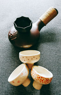 陶器のじょうご☕