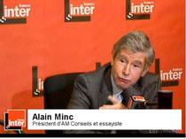 Alain MINC sur France Inter