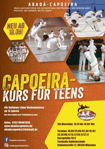 Capoeira für Teens