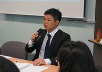 第1回韓日未来フォーラムの委員長