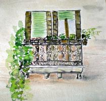 """""""Venezianischer Balkon"""""""