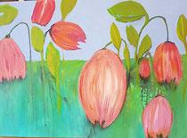 """""""Orange Flowers""""-Serie Blumen"""