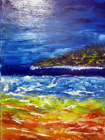 Landschaft Öl