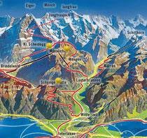 skikarte berneroberland