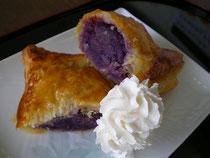 紫イモパイ
