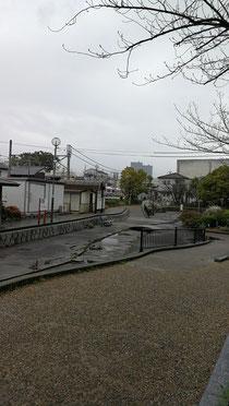 八尾は今日も雨!