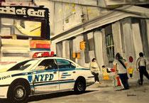 NYPD - Wallstreet 100x70