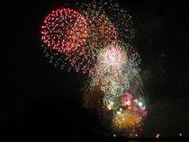 2012年のたまがわ花火大会の様子