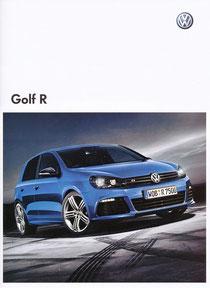 VW GOLF Rカタログ表紙