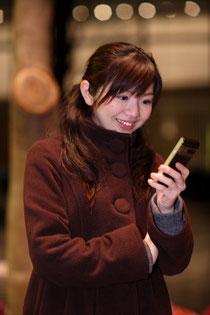 初めてのスマートフォン