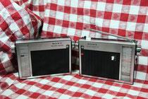 SONY TFM-110F(右)とステレオアダプタSTA-110F(左)