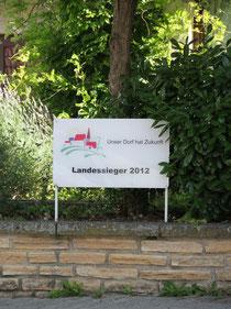 """Einselthum - Landessieger """"Unser Dorf hat Zukunft"""" 2012"""