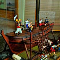 Es gab natürlich auch afrikanische Piraten; das Piratenmuseum in Tana hat aber nur diesen einen an Bord.