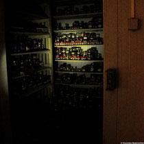 Tiefkühlkammer des Silo National des Graines Forestières für die Millennium Seed Bank.