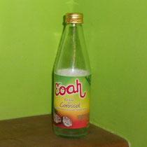 Neues Lieblingsgetränk: Corossol-Saft.