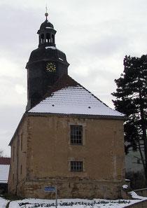Kirche Dobraschütz im Schnee