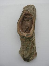 Eulenschnitzerei Holzschnitzkunst