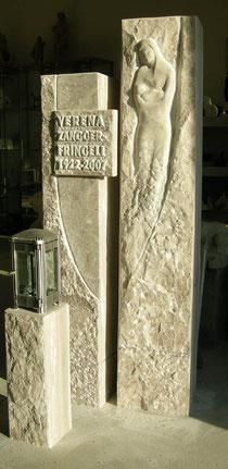 Grabstein Palisandro Marmor
