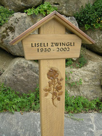 Holzgrabmal paul widmer