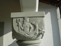 Kapitell Sternzeichen Wassermann Bildhauer Paul Widmer