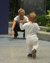 Antje mit ihrer Nichte