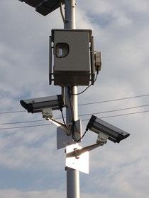 駐車場の防犯カメラ、監視カメラ