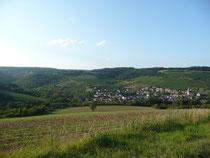 site du village d'Arcenant