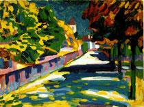 Kandinskij, Autunno in Bavaria